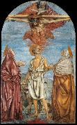The Holy Trinity, St Jerome and Two Saints Andrea del Castagno