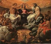 The Coronation of the Virgin Annibale Carracci