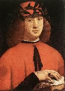 Portrait of Gerolamo Casio BOLTRAFFIO, Giovanni Antonio
