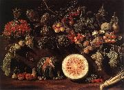 Fruit, Vegetables and a Butterfly BONZI, Pietro Paolo