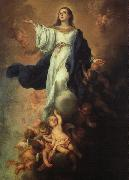 Assumption of the Virgin Bartolome Esteban Murillo