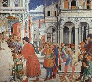 The School of Tagaste Benozzo Gozzoli