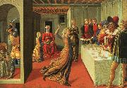 The Dance of Salome Benozzo Gozzoli