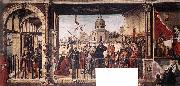 Arrival of the English Ambassadors g CARPACCIO, Vittore