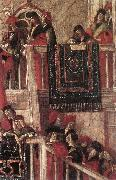 Meeting of the Betrothed Couple (detail) dfg CARPACCIO, Vittore