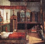 The Dream of St Ursula  dfg CARPACCIO, Vittore