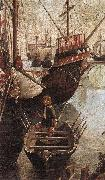 The Arrival of the Pilgrims in Cologne (detail) CARPACCIO, Vittore