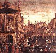 The Healing of the Madman fdg CARPACCIO, Vittore
