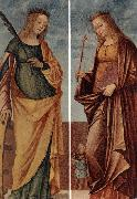 St Catherine of Alexandria and St Veneranda dfg CARPACCIO, Vittore