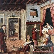 Birth of the Virgin fg CARPACCIO, Vittore