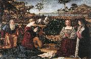 Holy Family with Two Donors CARPACCIO, Vittore