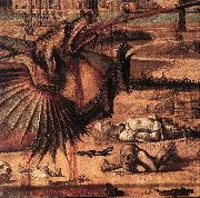 St George and the Dragon (detail)  sdf CARPACCIO, Vittore