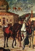 Triumph of St George (detail) dsf CARPACCIO, Vittore