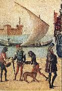 Arrival of the English Ambassadors (detail) f CARPACCIO, Vittore