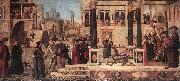 The Daughter of of Emperor Gordian is Exorcised by St Triphun dfg CARPACCIO, Vittore