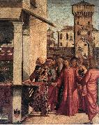 The Calling of Matthew dsf CARPACCIO, Vittore
