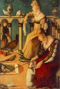 Two Venetian Ladies  dfg CARPACCIO, Vittore