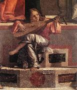 Presentation of Jesus in the Temple (detail) dsf CARPACCIO, Vittore