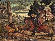 St George and the Dragon (detail) dfg CARPACCIO, Vittore