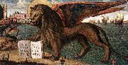 The Lion of St Mark (detail) dsf CARPACCIO, Vittore