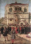 The Ambassadors Return to the English Court (detail) fdg CARPACCIO, Vittore