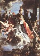 The Triumph of St Augustine df COELLO, Claudio