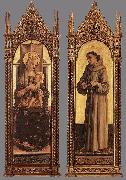Madonna and Child; St Francis of Assisi dfg CRIVELLI, Carlo