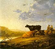 Young Herdsman with Cows fdg CUYP, Aelbert
