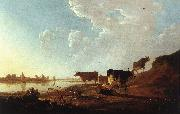 River Scene with Milking Woman sdf CUYP, Aelbert