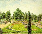 Kew, The Path to the Main Conservatory Camille Pissaro