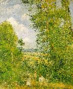 Resting in the Woods at Pontoise Camille Pissaro
