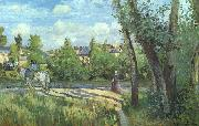 Sunlight on the Road, Pontoise Camille Pissaro