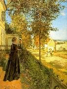 Louveciennes : The Road to Versailles Camille Pissaro