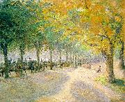 Hyde Park, London Camille Pissaro