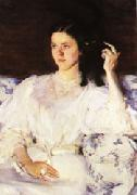 Sita and Sarita(Girl with a Cat) Cecilia Beaux