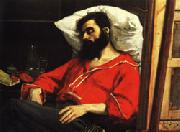 The Convalescent ( The Wounded Man ) Charles Carolus - Duran
