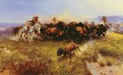 The Buffalo Hunt Charles M Russell