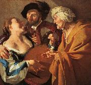 The Procuress Dirck van Baburen