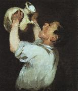 Boy with a Pitcher Edouard Manet
