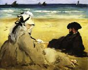 At the Beach Edouard Manet