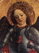 St Michael Archangel (detail) sdf FOPPA, Vincenzo