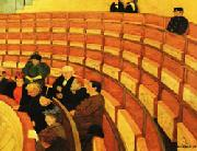 The Third Gallery at the Theatre du Chatelet Felix Vallotton