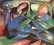 Dreaming Horse Franz Marc