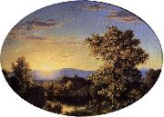 Twilight among the Mountains Frederic Edwin Church