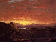 Morning, Looking East over the Hudson Valley from the Catskill Mountains Frederic Edwin Church