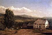 View in Pittsford, Vt. Frederic Edwin Church