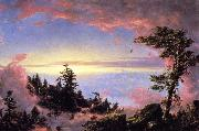 Above the Clouds at Sunrise Frederic Edwin Church