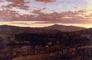 Ira Mountain, Vermont Frederic Edwin Church