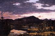 Lake Scene in Mount Desert Frederic Edwin Church