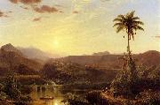 The Cordilleras Sunrise Frederic Edwin Church